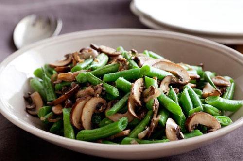 feijao-verde-cogumelos