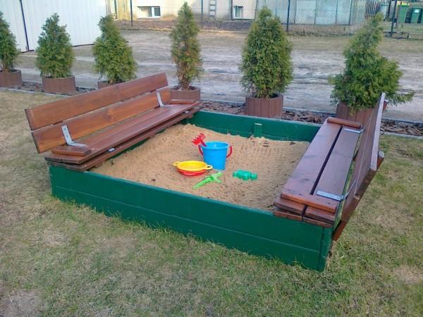 Ideias para o jardim com paletes 2