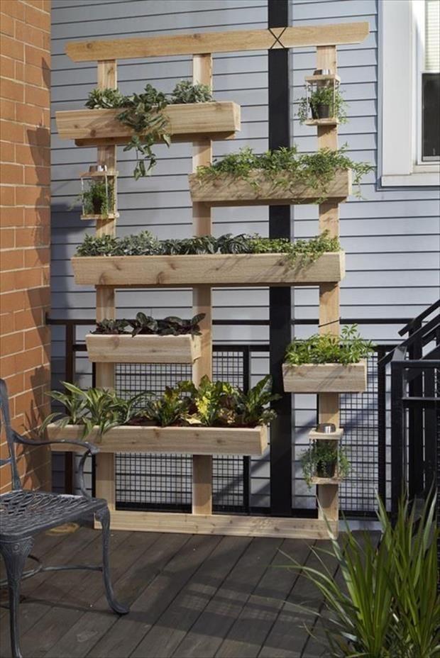 Ideias para o jardim com paletes 26