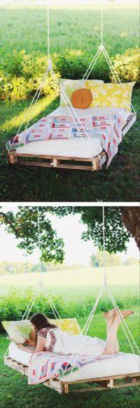 ideias jardim exterior:55 Ideias para o teu Jardim com Paletes de Madeira