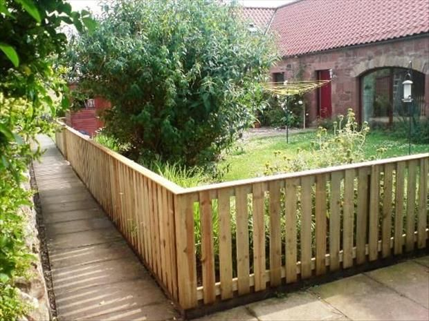 Ideias para o jardim com paletes 50