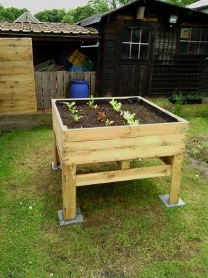 Ideias para o jardim com paletes 54