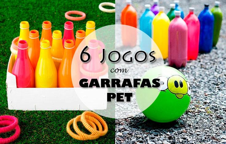 6 Jogos Com Garrafas Pet Que As Crianças Vão Adorar
