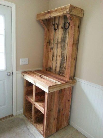 How To Build Hall Tree Joy Studio Design Gallery Best  : moveis com paletes de madeira 3 from joystudiodesign.com size 435 x 580 jpeg 33kB