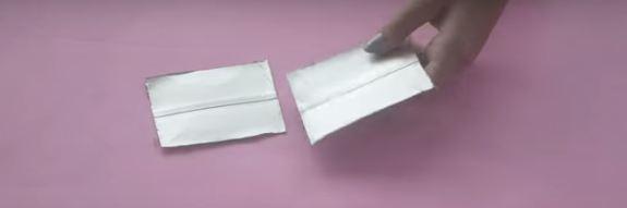 artesanato de caixa de leite