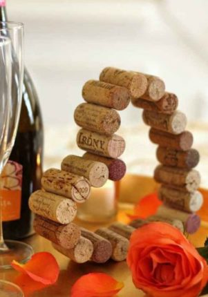 artesanato com rolha de vinho
