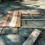 cabeceira de madeira