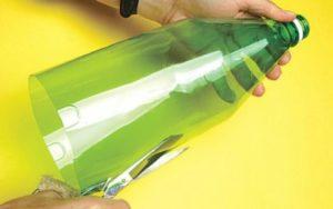 catavento de garrafa pet