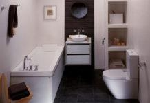 decoração de banheiro pequeno