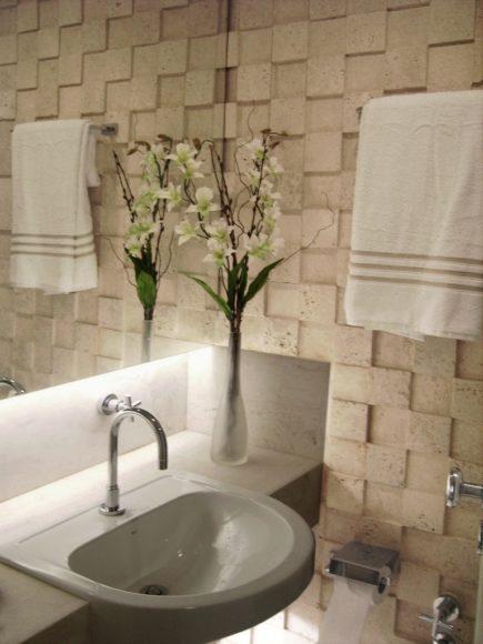 decoraçãobanheiropequeno009 » Mostarde -> Decoracao De Banheiros Com Artesanato