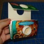 porta moedas caixa de leite