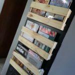 porta revista de material reciclado