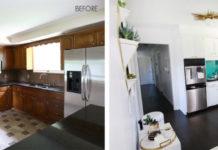 antes e depois cozinha
