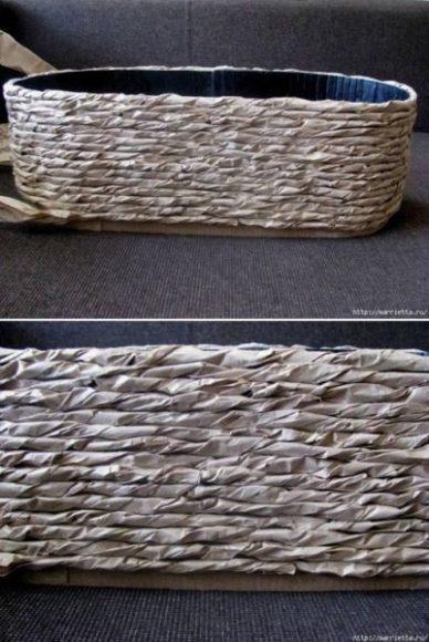 cachepo de papelão
