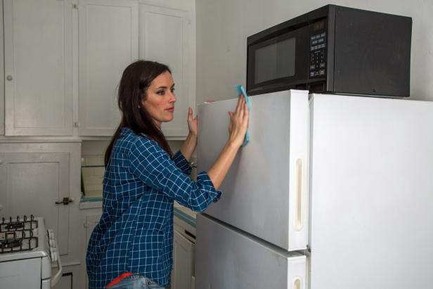 como adesivar a geladeira