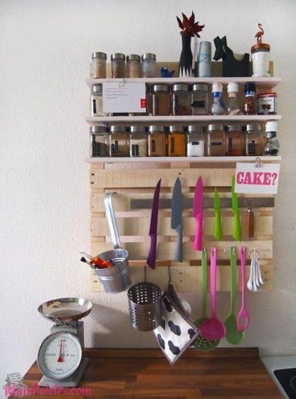 12 cozinhas de paletes - Portacoltelli ikea ...