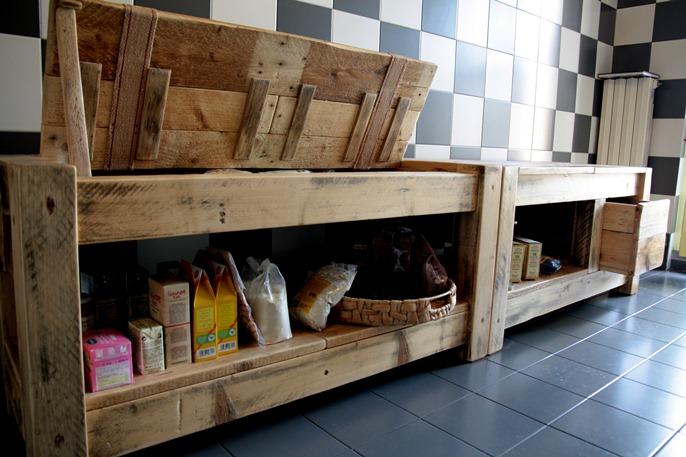 12 cozinhas de paletes - Mobili con bancali di legno ...