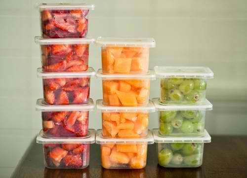 dicas para organizar comida