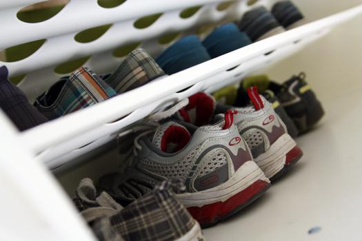 dicas para organizar sapatos