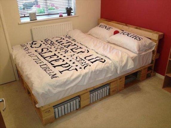 30 camas de paletes para você se inspirar