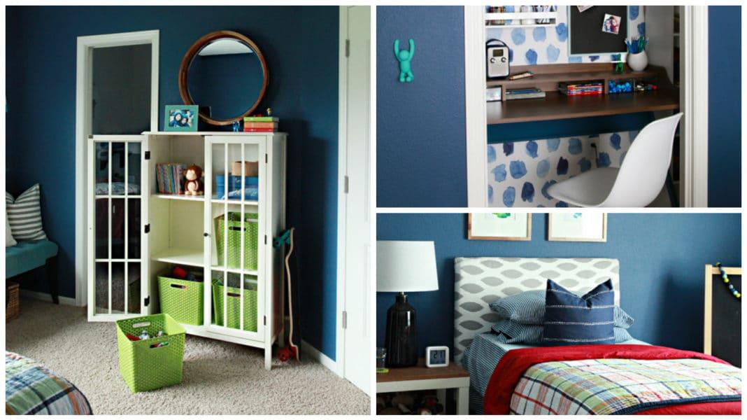 decoração de quarto para menino