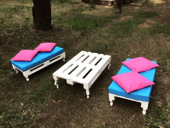 ideias móveis de paletes