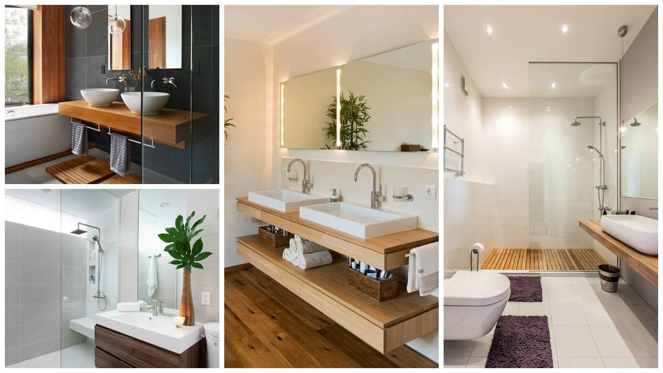 Inspiração de banheiro decorado 20 exemplos para você! #966535 1366x768 Banheiro Com Banheira Decorado