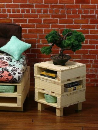 móveis de paletes