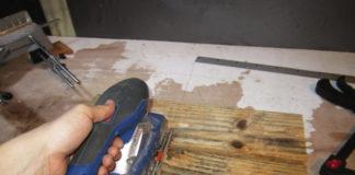 pintar a madeira do palete