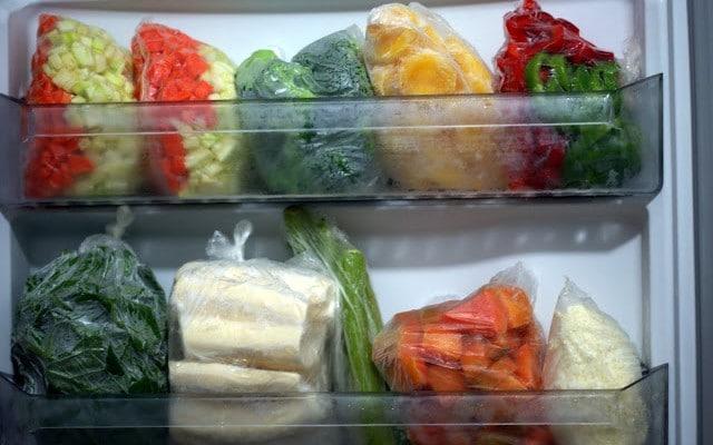 como congelar alimentos