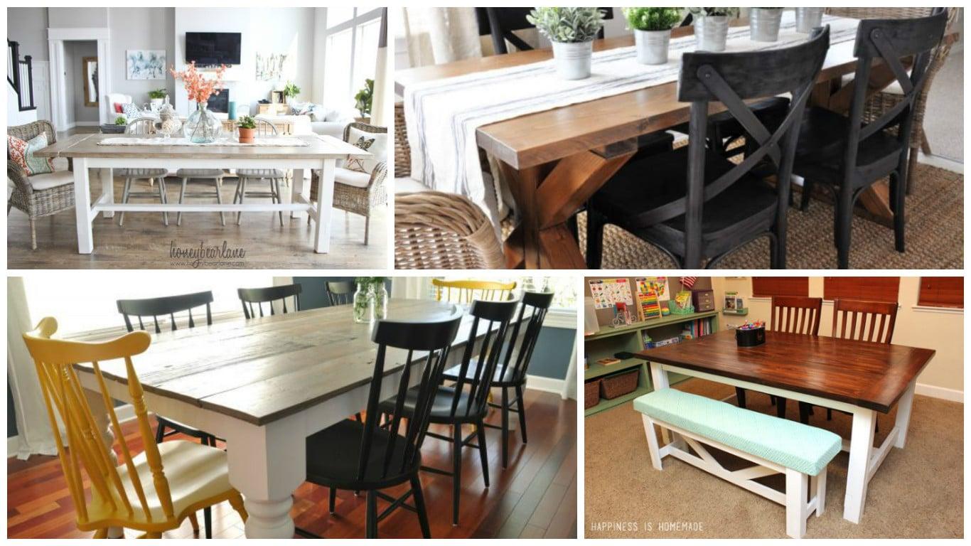 Móveis de paletes: 10 mesas no estilo rústico #9A6531 1366x768