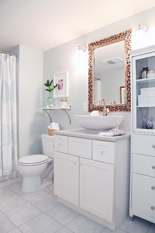 decoracao banheiro velho : decoracao banheiro velho:Olá belo banheiro novo-velho! Tal diferença feita em apenas um dia