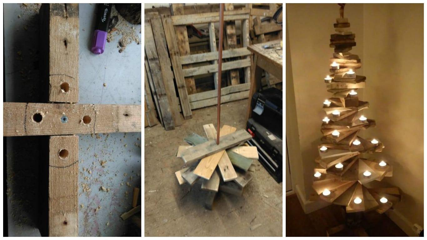 Móveis de paletes: decoração para o Natal #664826 1366x768