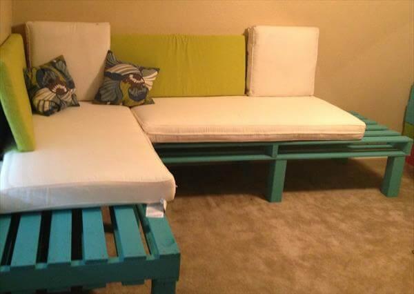 ideias de sofá de paletes