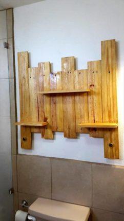 prateleira de banheiro, como fazer
